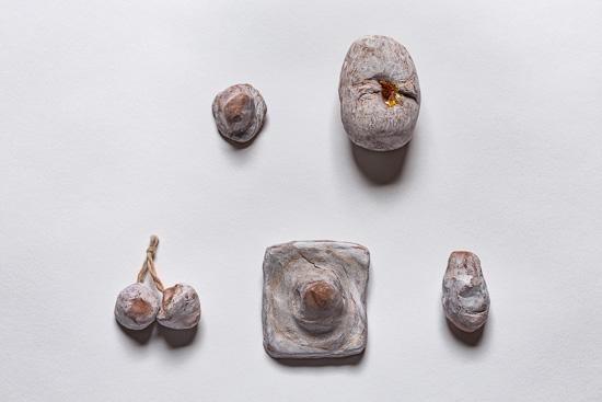 Omphalos and Egg by Elizabeth Garvey