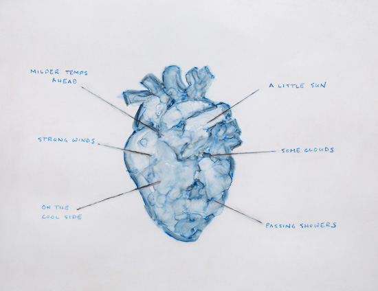 Heart Forecast by Elizabeth Garvey