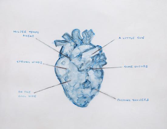 Heart Forecast by Elizabeth Garvey